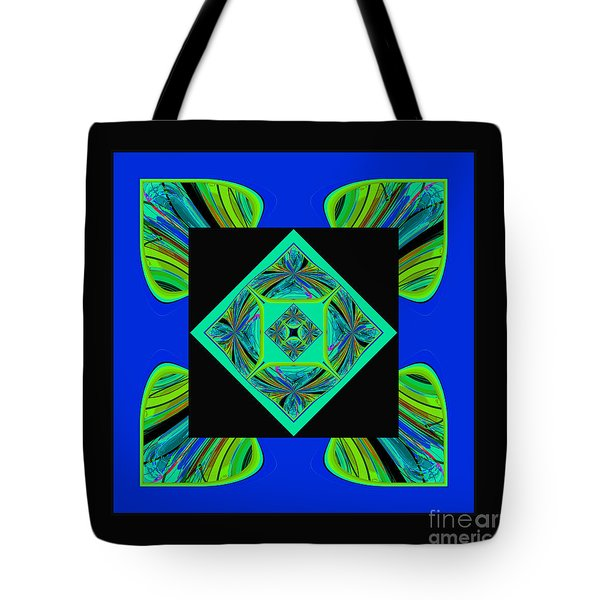 Mandala #6 Tote Bag by Loko Suederdiek