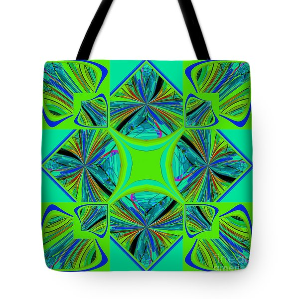 Mandala #7 Tote Bag by Loko Suederdiek