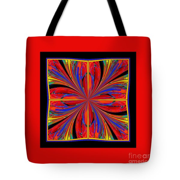 Mandala #8 Tote Bag by Loko Suederdiek