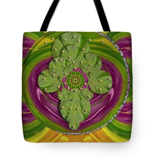 Mandala Art Tote Bag by Pepita Selles