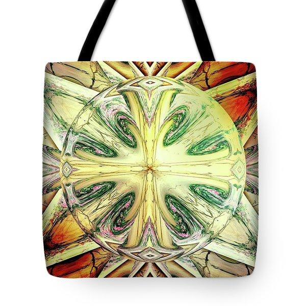 Mandala Tote Bag by Beto Machado