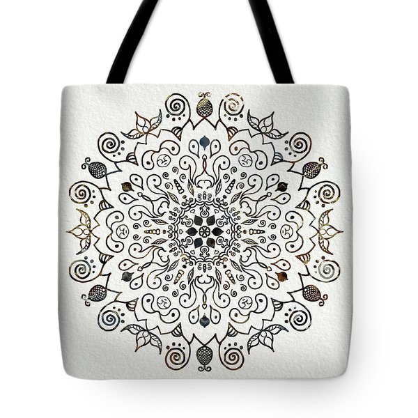 Mandala Earth And Water 2 Tote Bag