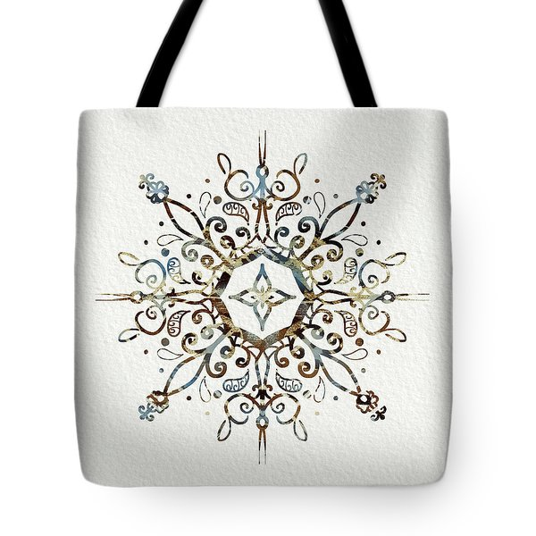 Mandala Earth And Water 3 Tote Bag