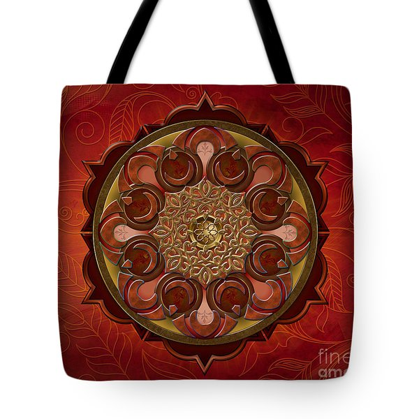 Mandala Flames Sp Tote Bag