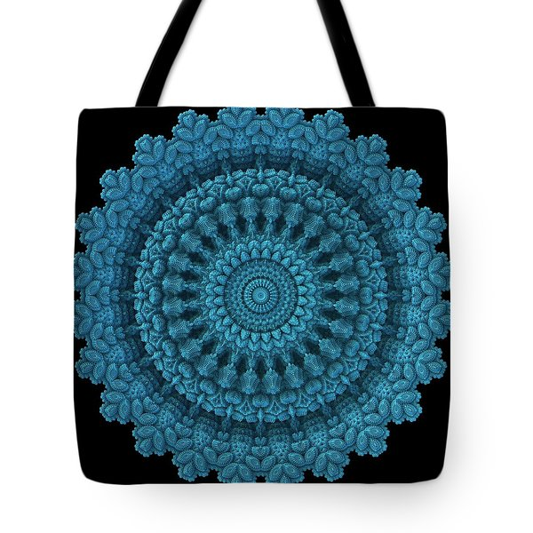 Tote Bag featuring the digital art Mandala For The Masses by Lyle Hatch