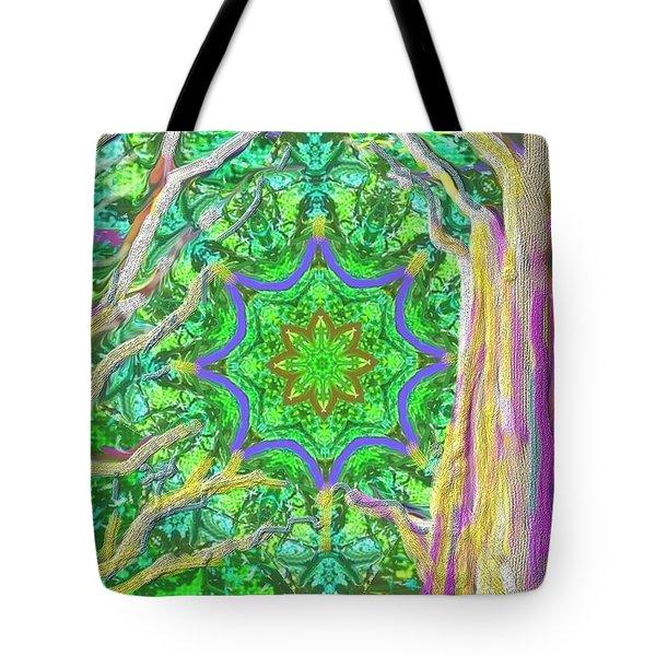 Mandala Forest Tote Bag