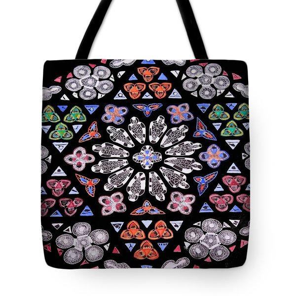 Mandala Of Hope Phase 2 Tote Bag