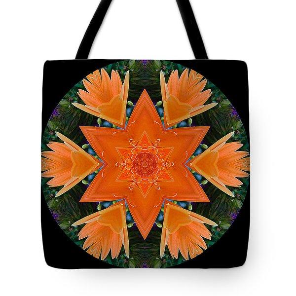 Mandala Star Tote Bag