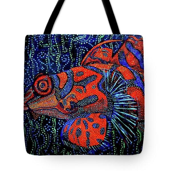 Dreamtime Mandarin Tote Bag