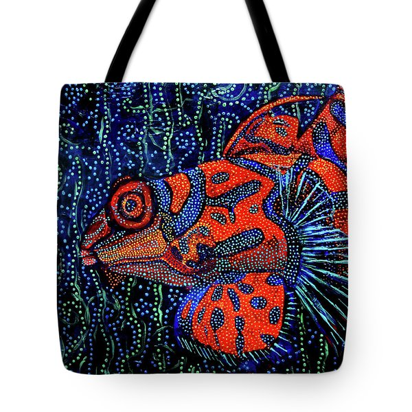 Dreamtime Mandarin Tote Bag