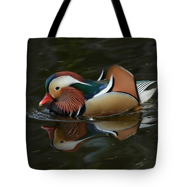 Mandarin Reflection Tote Bag