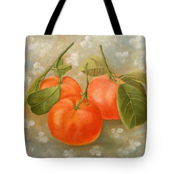 Mandarins Tote Bag