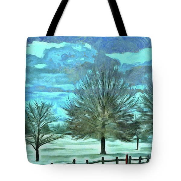 Tote Bag featuring the mixed media Mandisa by Trish Tritz