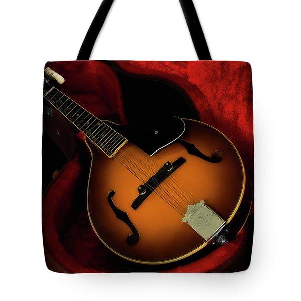 Mandolin Guitar 66661 Tote Bag
