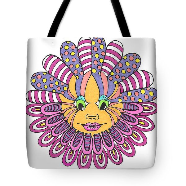 Mandy Flower Tote Bag