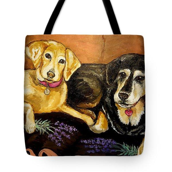 Mandys Girls Tote Bag by Alexandria Weaselwise Busen