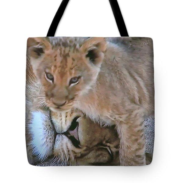 Mane Support  Tote Bag