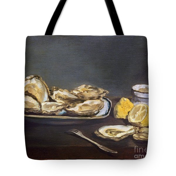 Manet: Oysters, 1862 Tote Bag by Granger