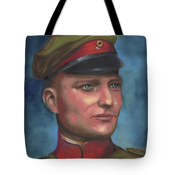 Manfred Von Richthofen The Red Baron Tote Bag