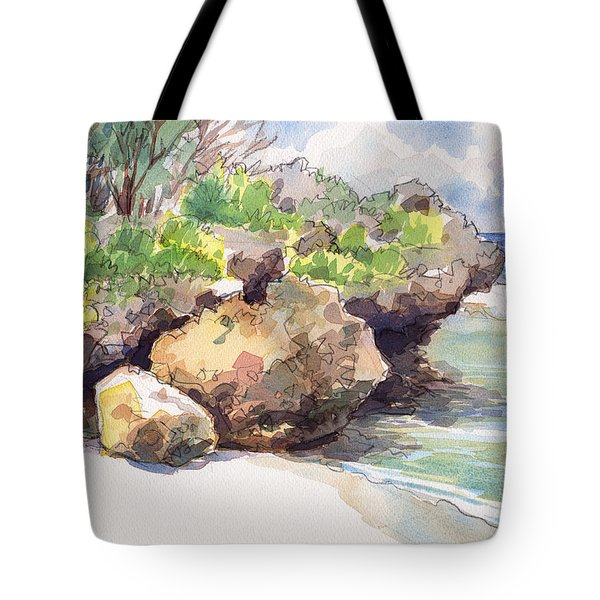 Mangaia West Coast Tote Bag