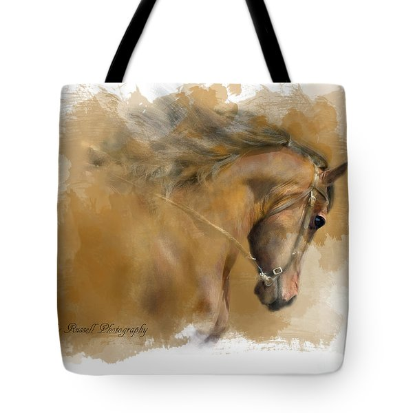 Mangalarga Marchador Tote Bag by Kathy Russell