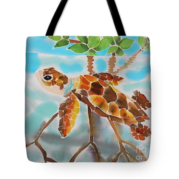 Mangrove Baby Turtle Tote Bag