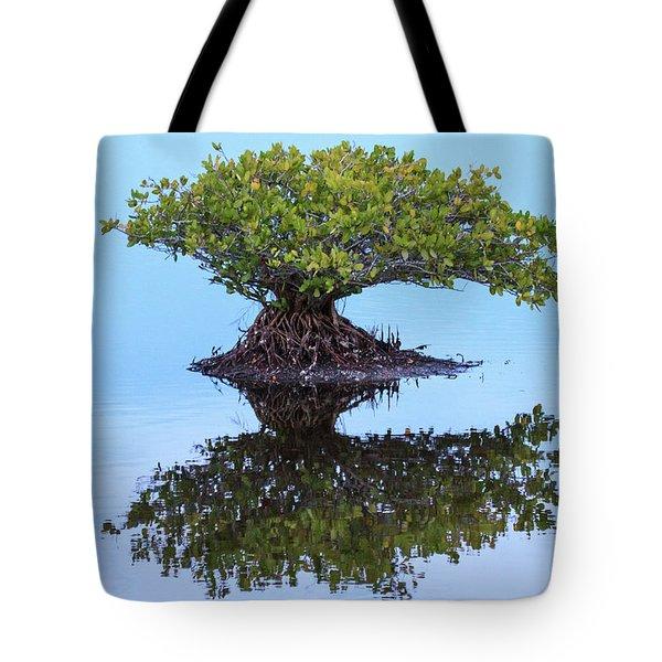 Mangrove Reflection Tote Bag