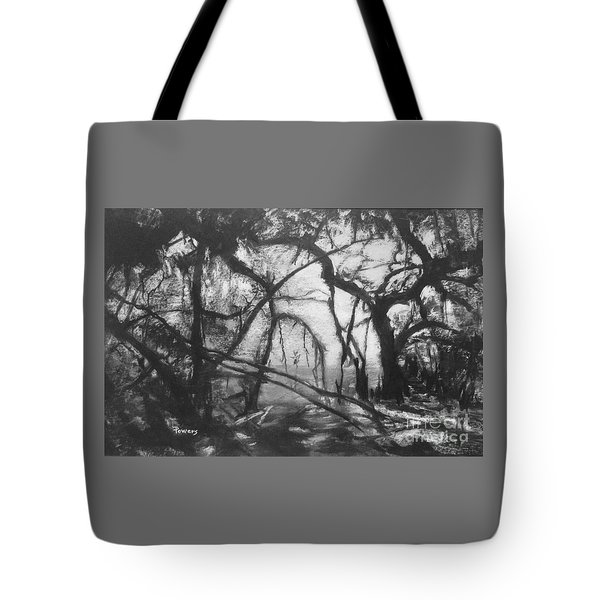 Mangroves By Moonlight Tote Bag