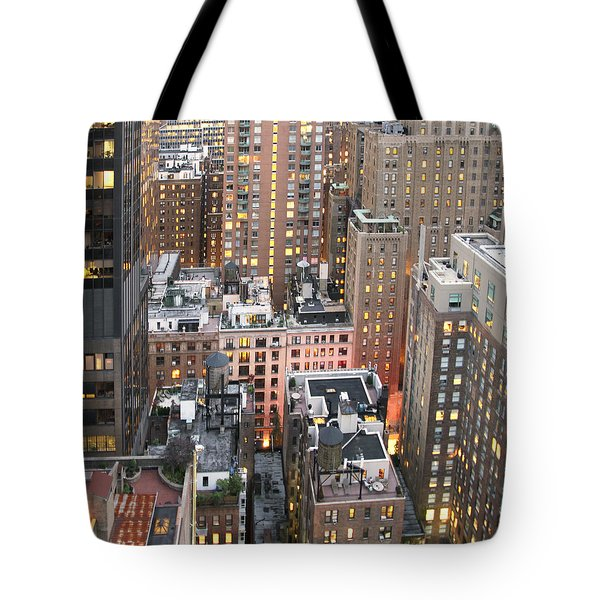 Manhattan At Dusk Tote Bag