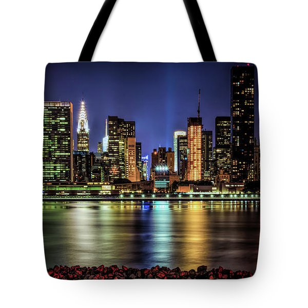 Tote Bag featuring the photograph Manhattan Beauty by Theodore Jones
