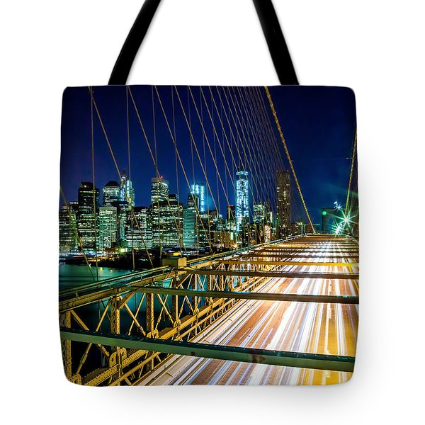 Manhattan Bound Tote Bag