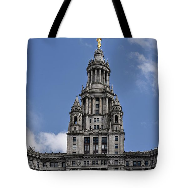 Tote Bag featuring the photograph Manhattan City Hall by Judy Wolinsky