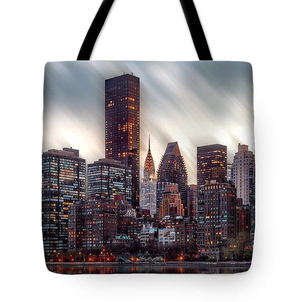 Manhattan Daze Tote Bag