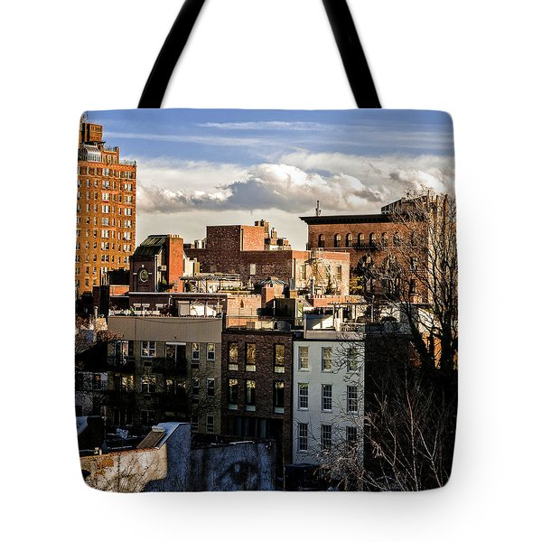 Manhattan From The Whitney Tote Bag