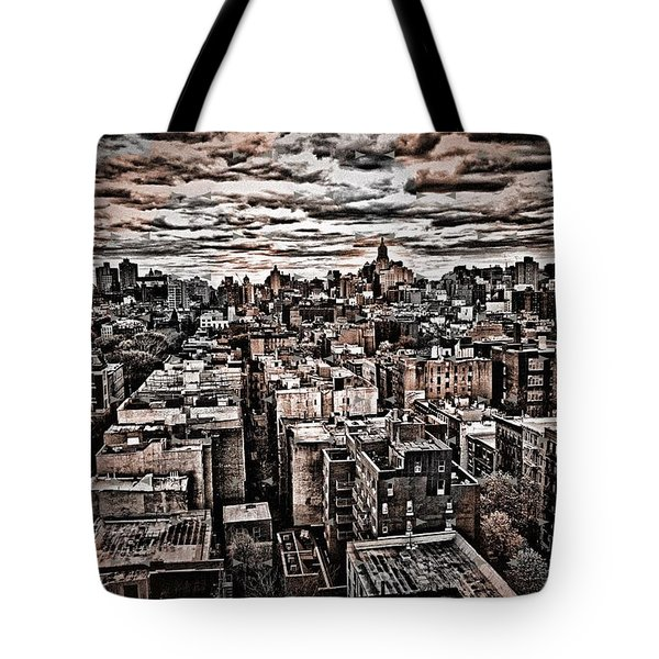 Manhattan Landscape Tote Bag