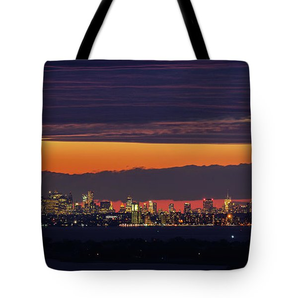 Manhattan Lights Tote Bag