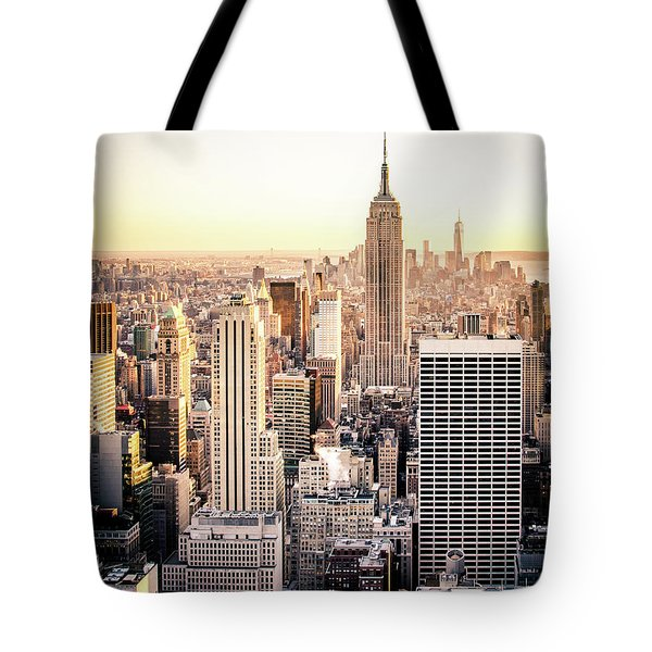 Manhattan Tote Bag by Michael Weber