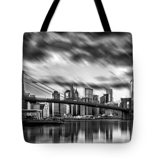 Manhattan Moods Tote Bag by Az Jackson