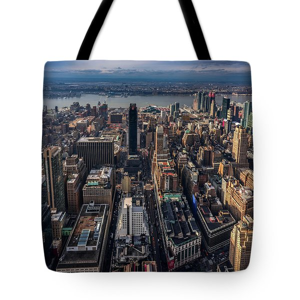 Manhattan, Ny Tote Bag