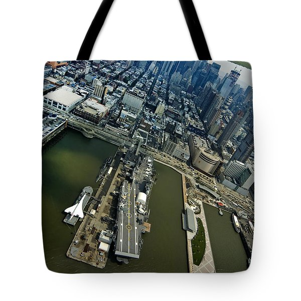 Manhattan Tote Bag by Robert Lacy