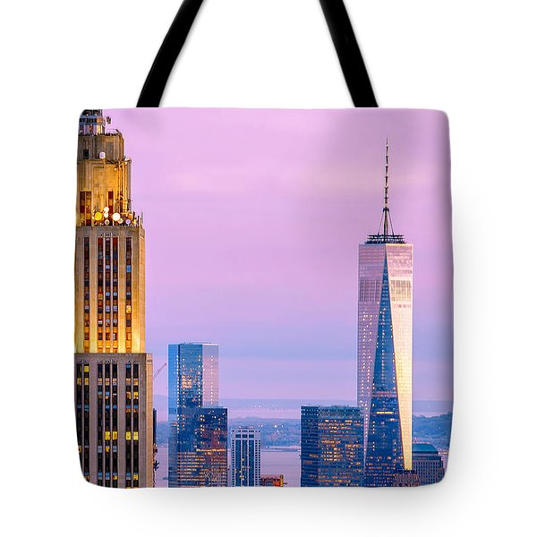 Manhattan Romance Tote Bag