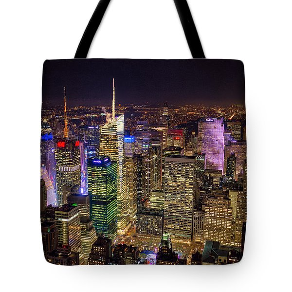 Tote Bag featuring the photograph Manhattan by Ross Henton