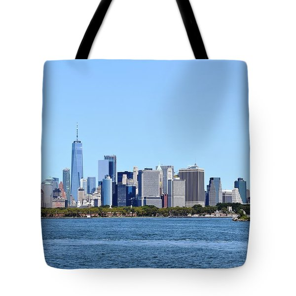 Manhattan Skyline 1 Tote Bag