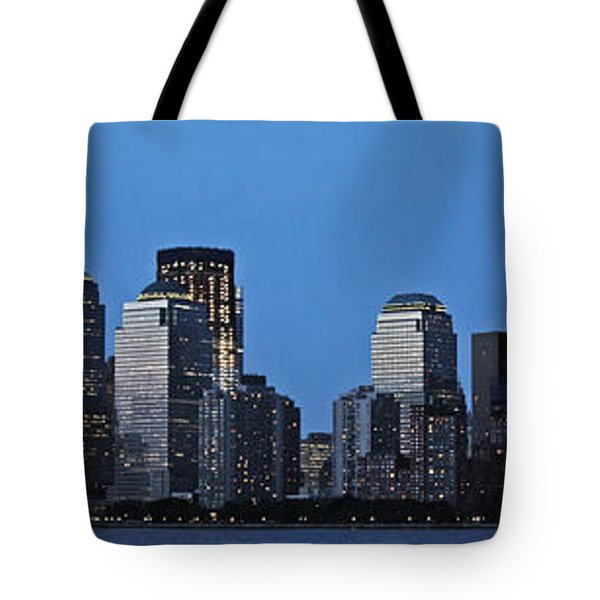 Tote Bag featuring the photograph Manhattan Skyline by John Haldane