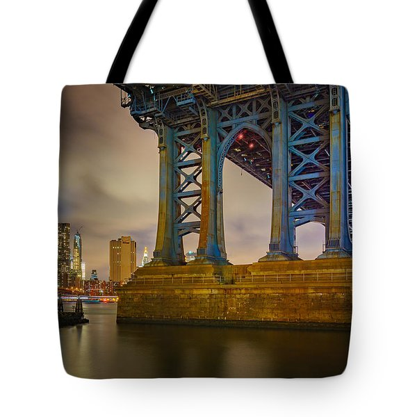 Manhattan Steel Tote Bag