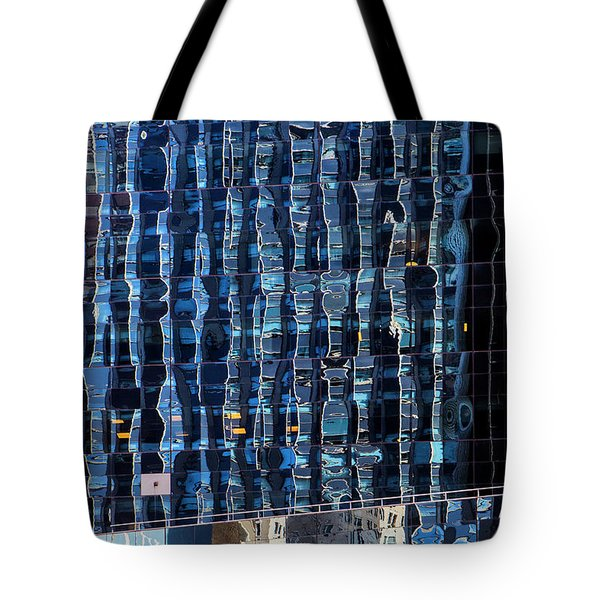 Manhattan Windows Tote Bag