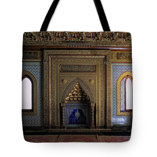 Manial Palace Mosque Tote Bag