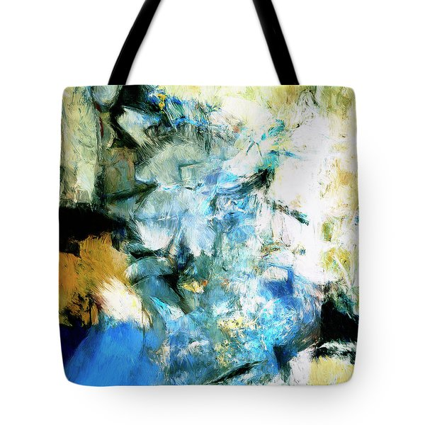 Tote Bag featuring the painting Manifestation by Dominic Piperata