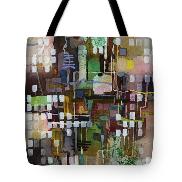 Tote Bag featuring the painting Manifold by Hailey E Herrera