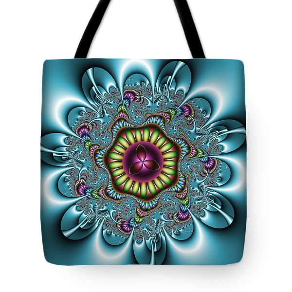 Tote Bag featuring the digital art Manisadvon by Andrew Kotlinski